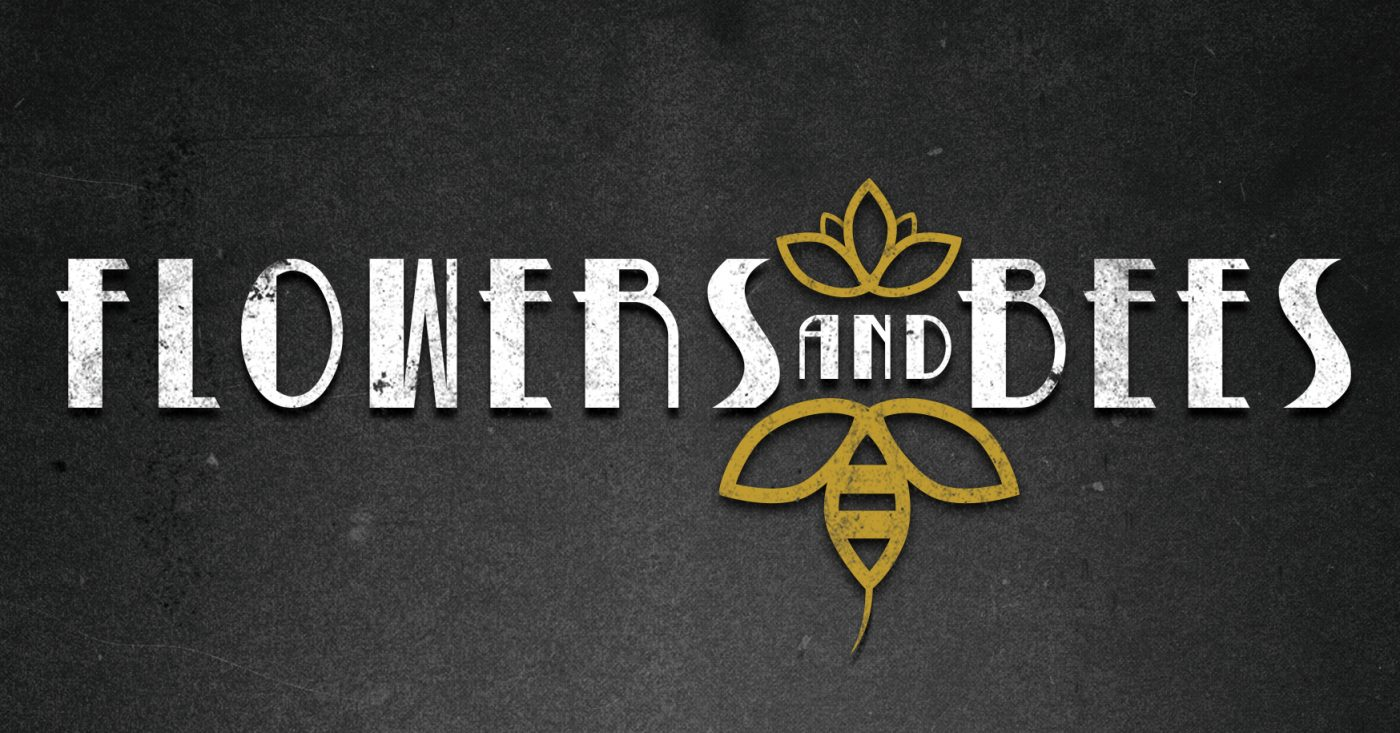 Logo Flowers & Bees
