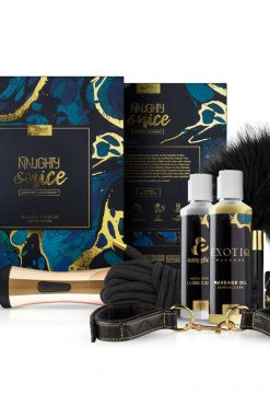 Adventskalender Naughty & Nice von Loveboxxx Black & Gold Limited Edition